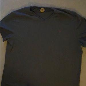Polo v-neck tshirt